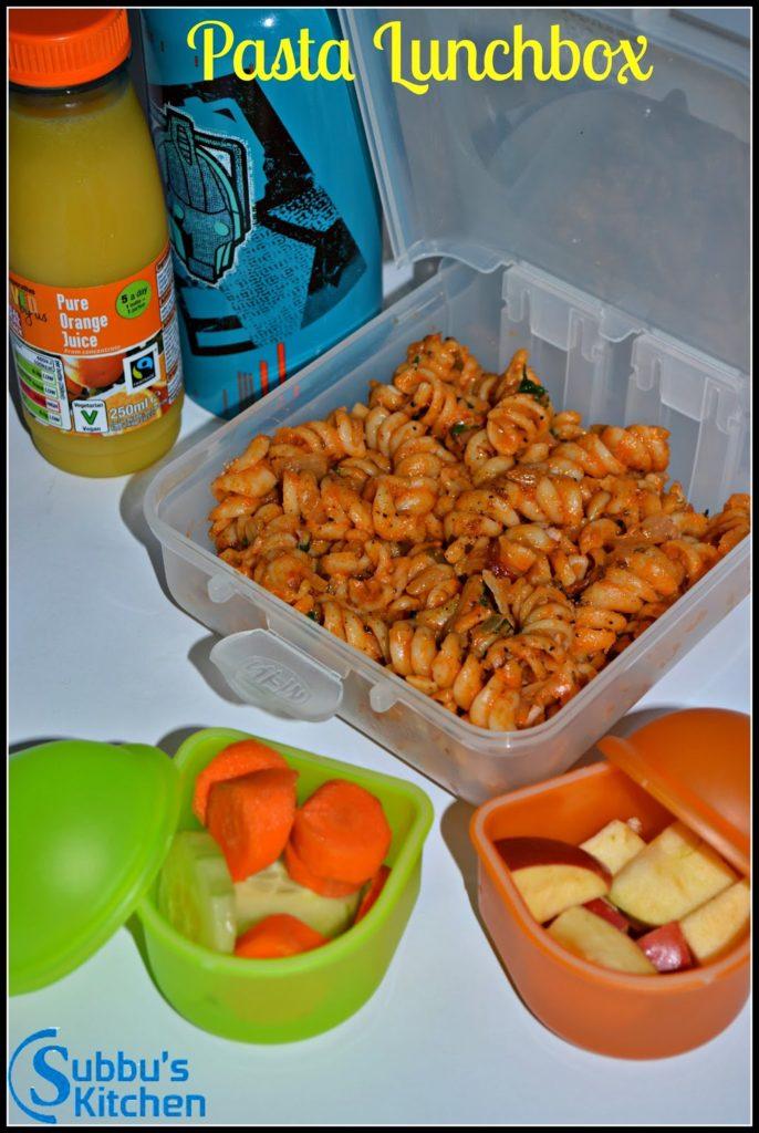 Vegetable Pasta | Kids Lunchbox Recipes