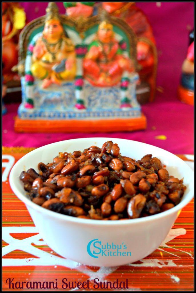 Karamani/Perum Payiru Sweet Sundal