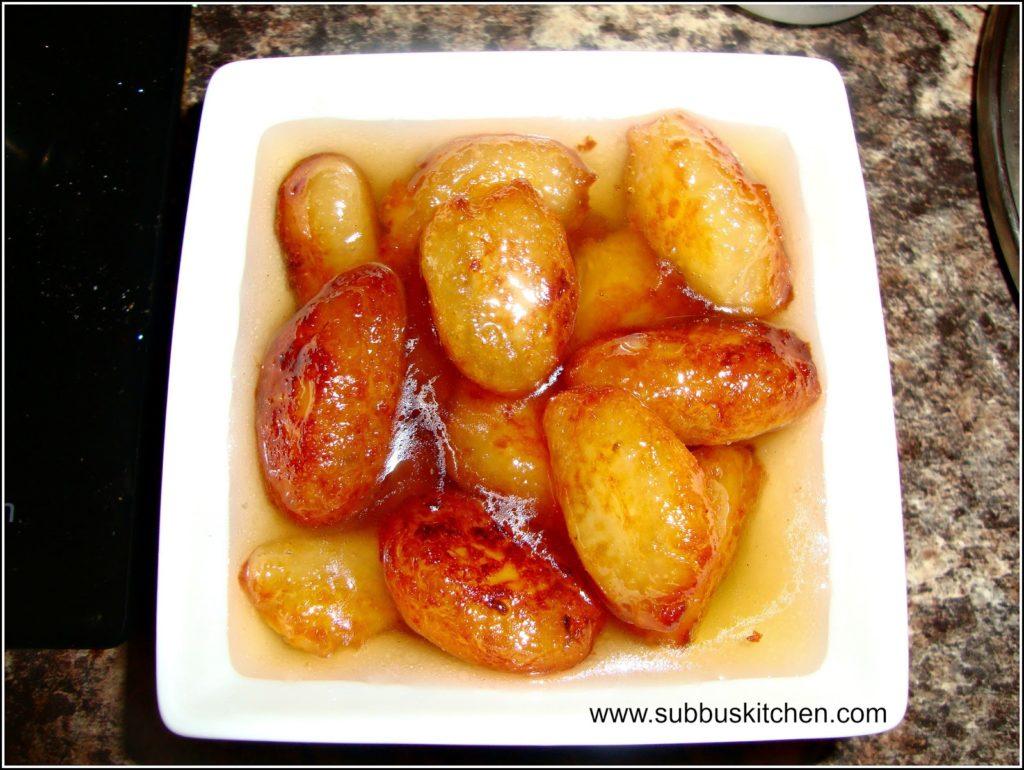 Potato Gulabjamoon