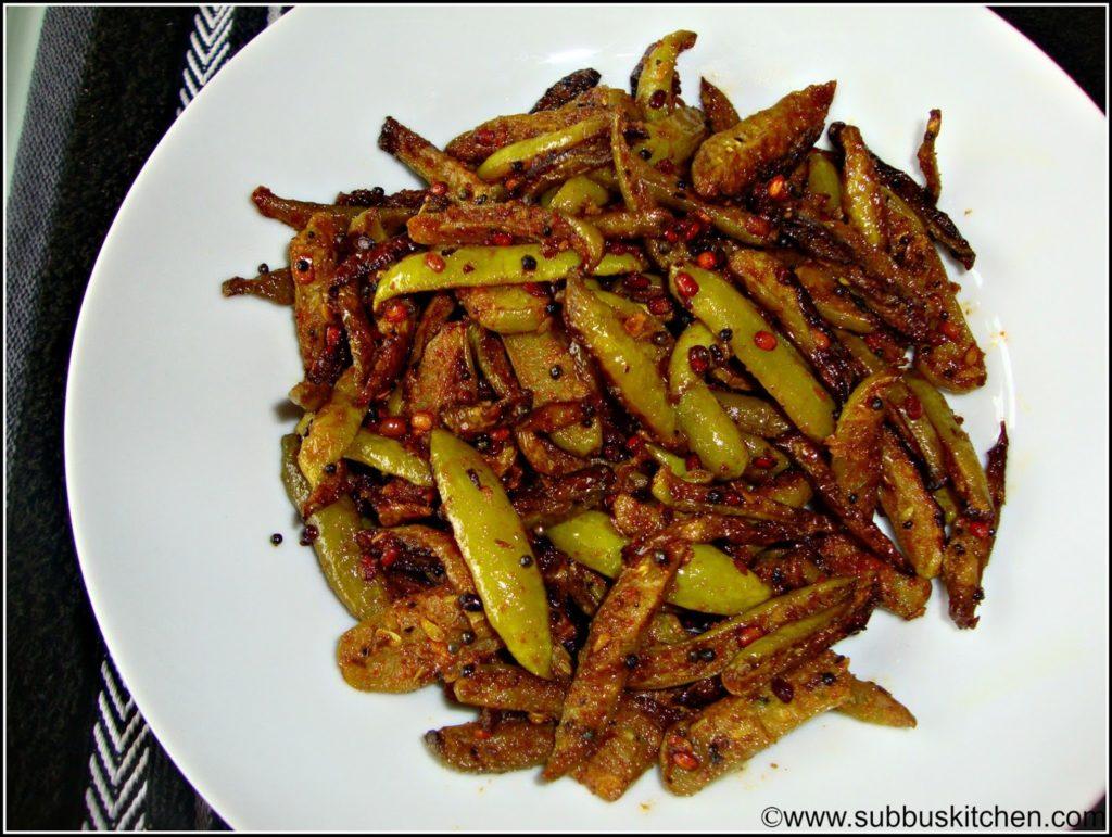 Kovakaai Fry(Kovakaai Vadhakal)