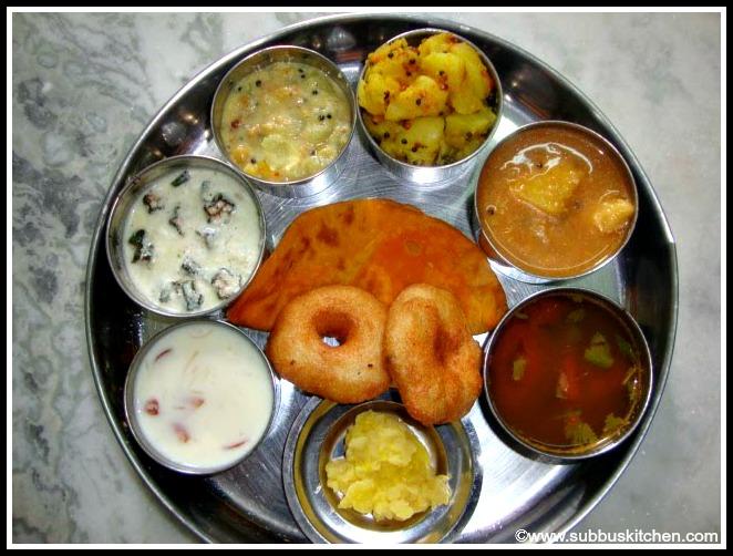 Tamil brahmin cuisine subbus kitchen tamil brahmin cusine forumfinder Gallery