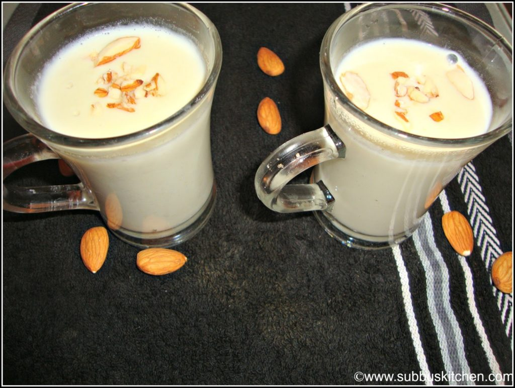 Badham Kheer/ Almond Pudding