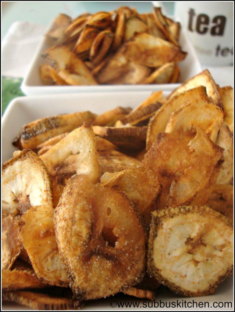 Vazhaikaai Chips(Raw Banana Chips)