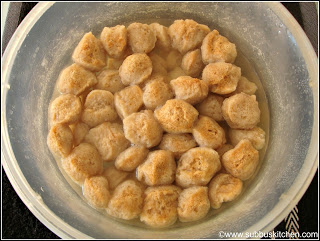 Aloo Soya Chunks Curry Subbus Kitchen