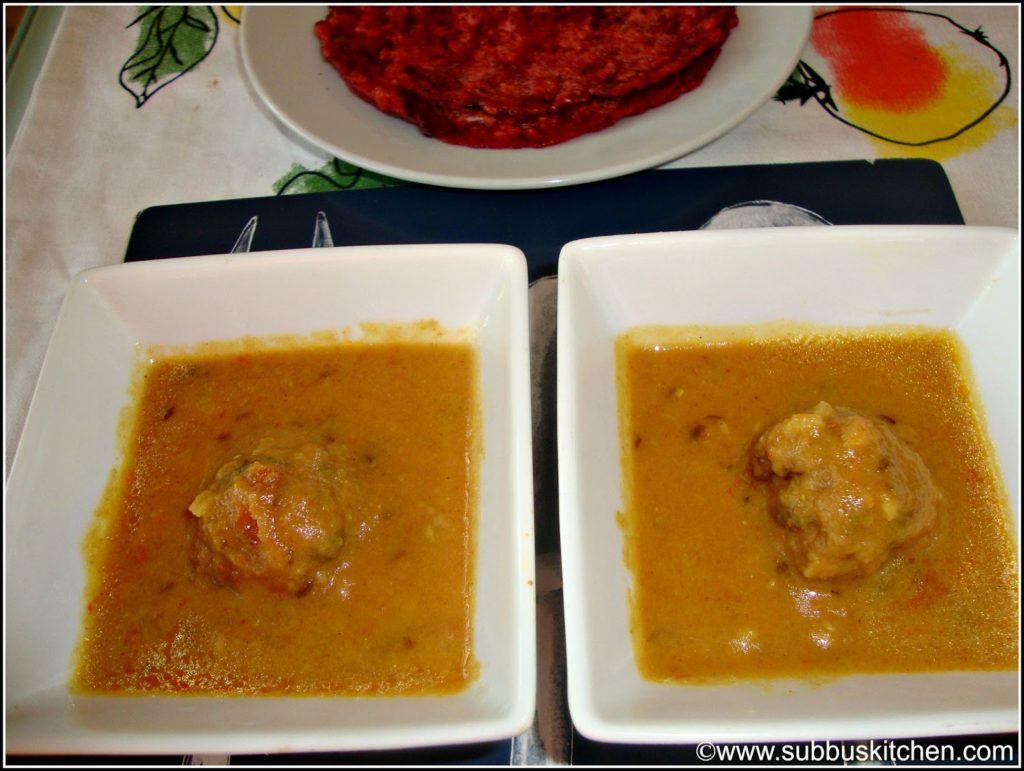 Vegetable Kofta Gravy