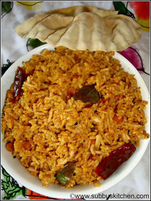 Karnataka Tamarind Rice