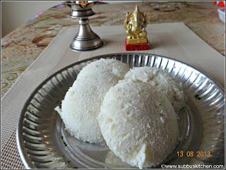 Pacharisi Idly ( Raw rice Idly)
