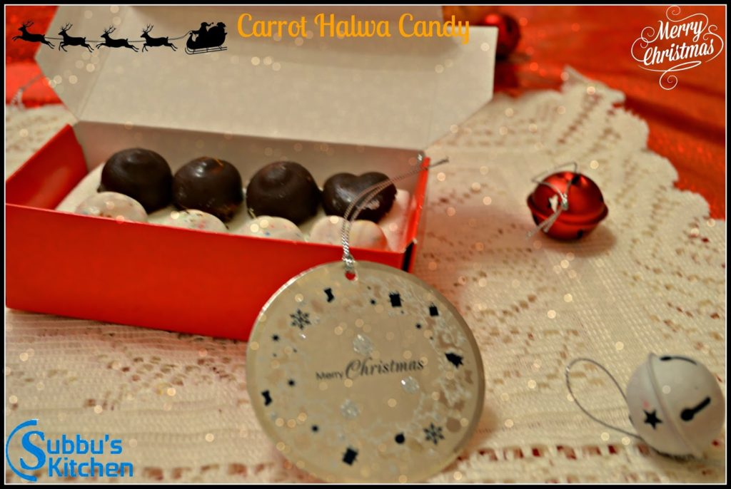 Carrot Halwa Candy