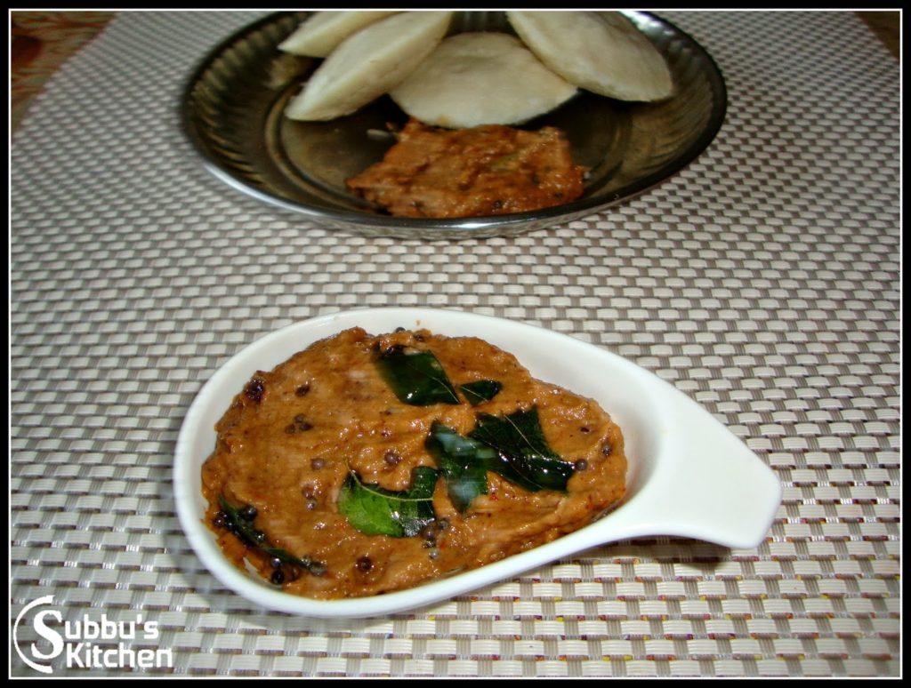 Vengaya Chutney (Onion Chutney)