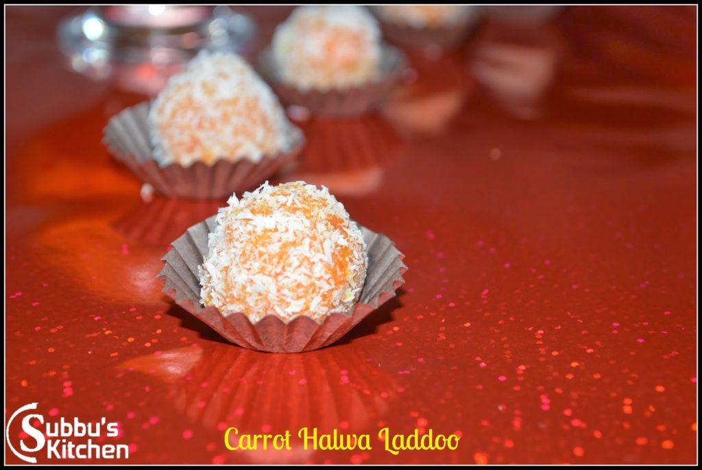 Carrot Halwa Ladoo