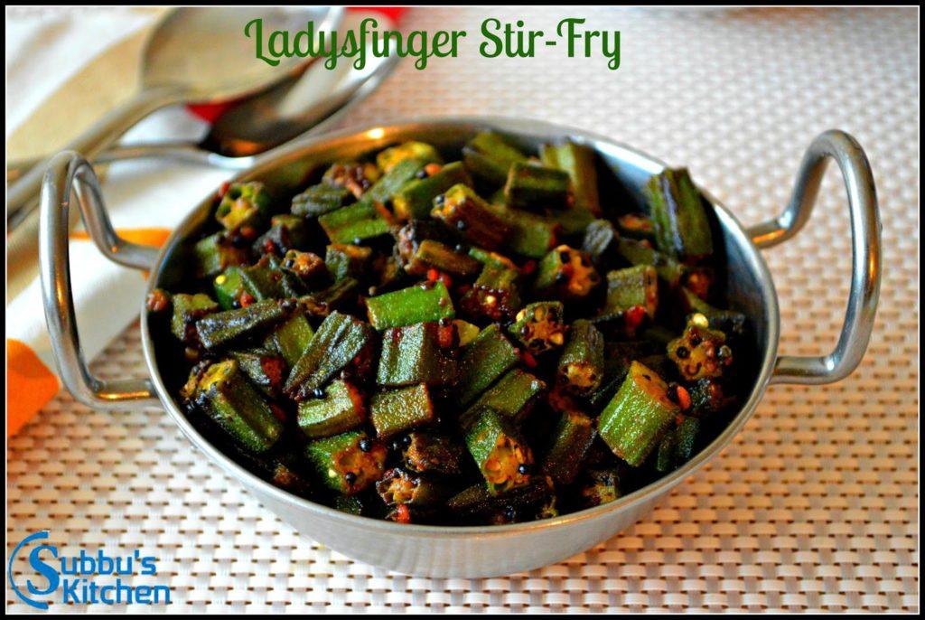 Laydsfinger Stir-Fry | Vendakaai Poriyal