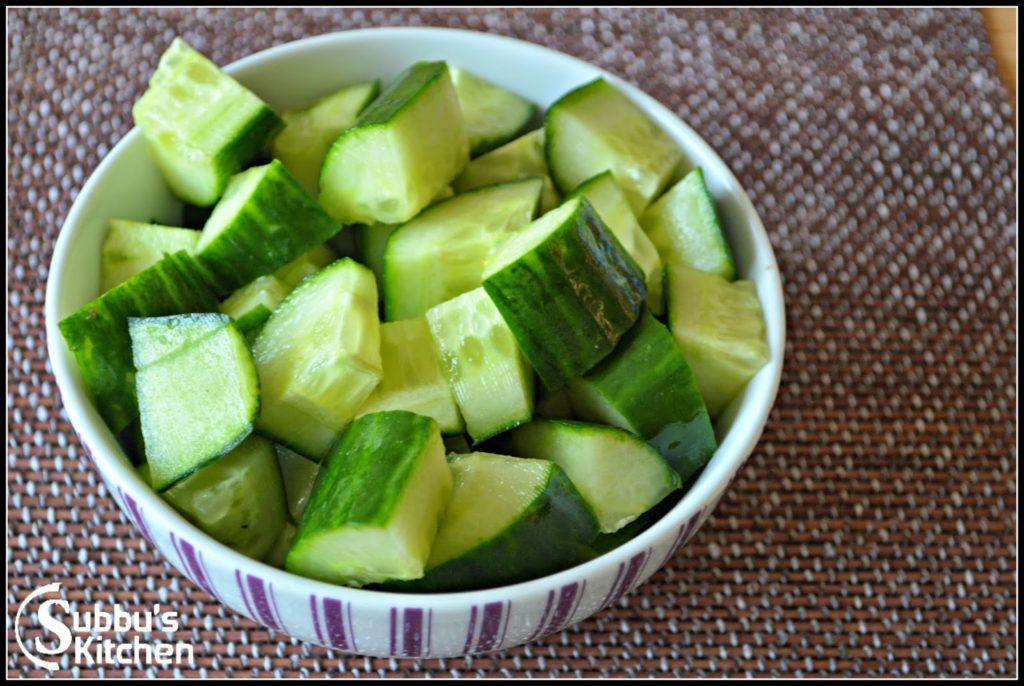 Cucumber Recipes Subbus Kitchen