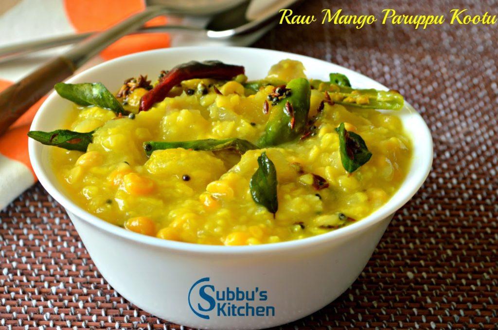 Raw Mango Paruppu Kootu