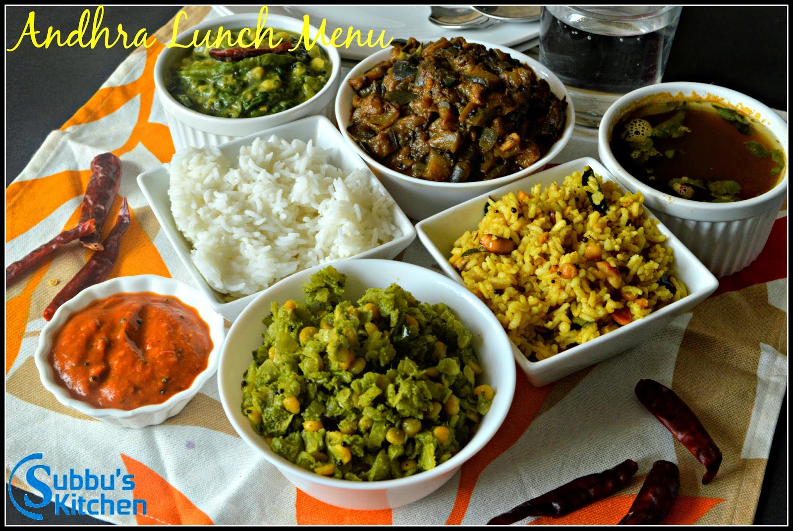 South Indian Lunch Menu 7 Andhra