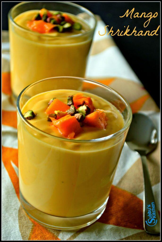 Mango Shrikhand Recipe, Amrakhand Recipe, Aamkhand Recipe, How to cook Amrakhand, How to prepare Mango Shrikhand, Recipe for Aamkhand