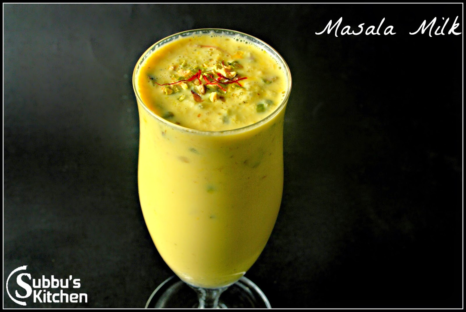 Madras Masala Paal (Masala Milk)