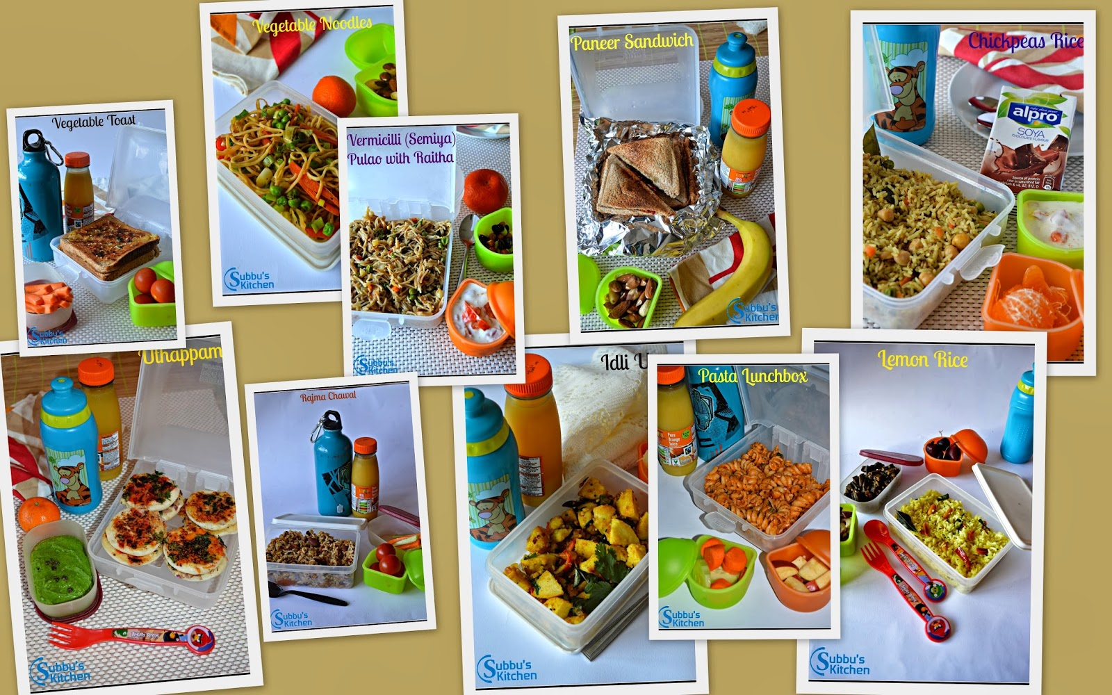 lunch box ideas for kids lunch box ideas and recipes subbus kitchen 12043