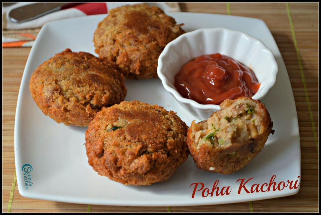 Poha Kachori Recipe