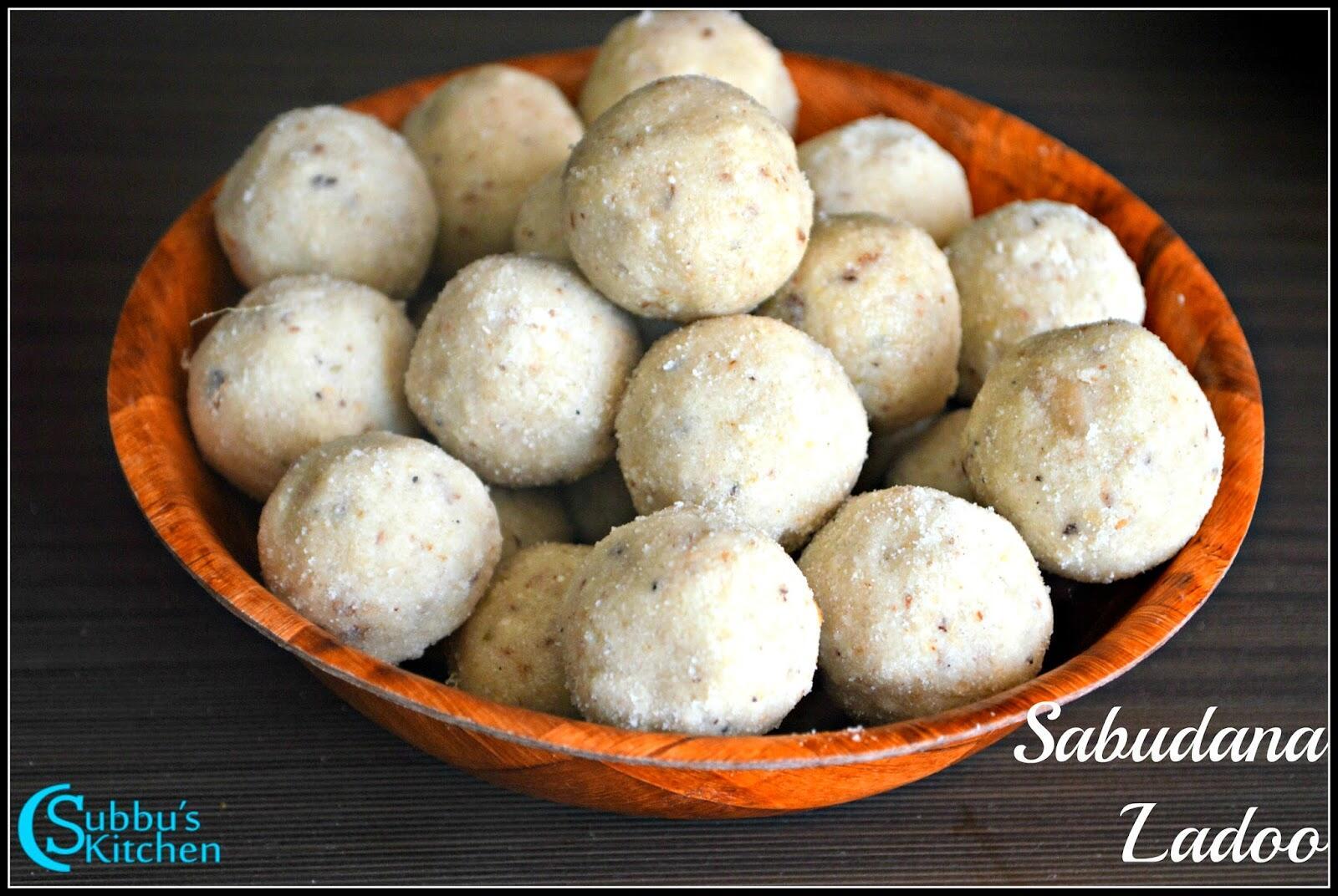 Sabudana Laddu | Sago Ladoo | Javvarasi Laddu