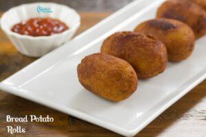 Bread Potato Rolls | Bread Aloo Rolls
