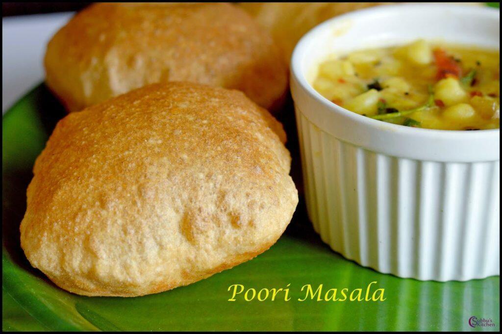 Poori with Masala