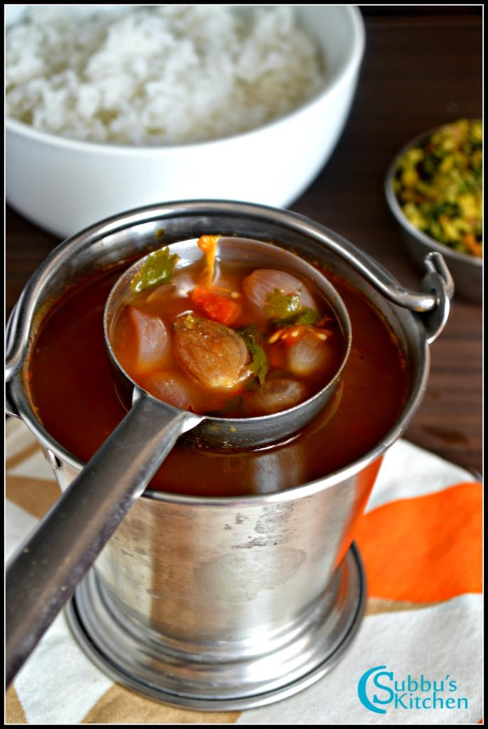 Vengaya Rasam Recipe | Onion Rasam Recipe