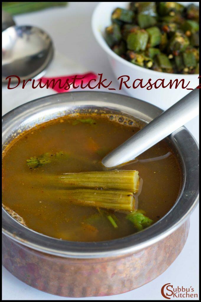 Drumstick Rasam Recipe | Murungakkai Rasam Recipe