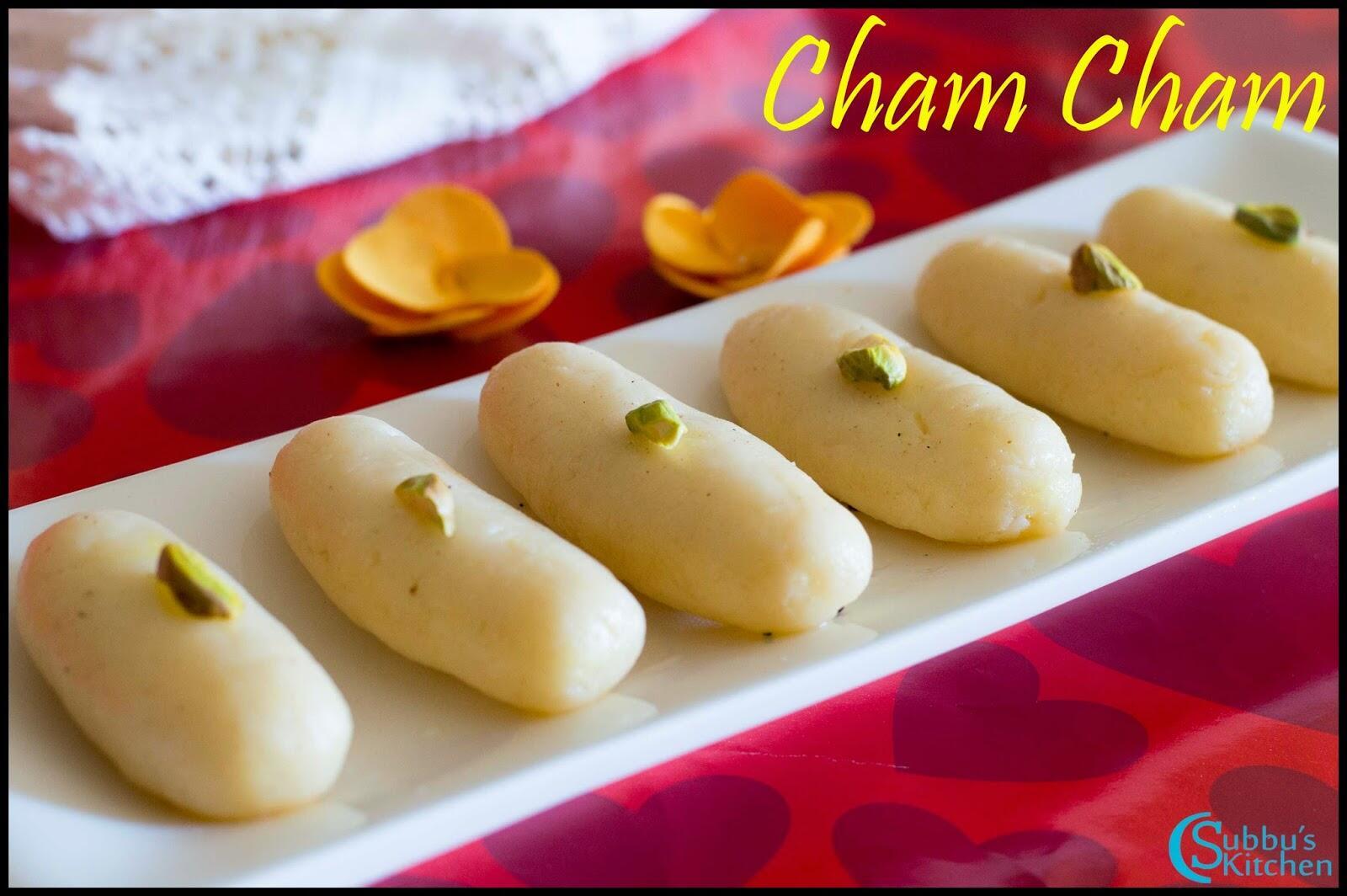 Bengali Cham Cham Recipe