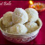 Coconut Balls Recipe | Bengali Coconut Ladoo using Condensed Milk Recipe | Narkel Naru Recipe