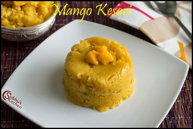 Mango Kesari Recipe | Mambazha Kesari Recipe