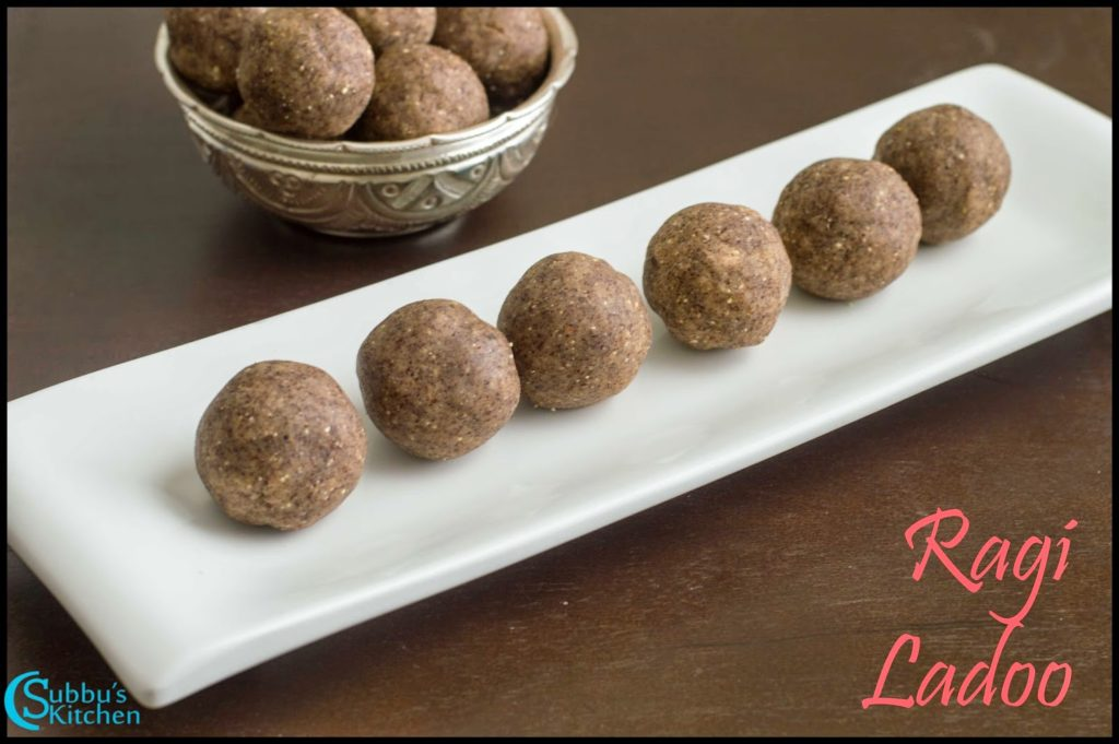Ragi Ladoo Recipe | Finger Millet and Walnut Jaggery Balls Recipe