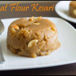 Wheat Flour Kesari Recipe | Godhumai Mavu Kesari Recipe