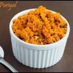 Carrot Poriyal