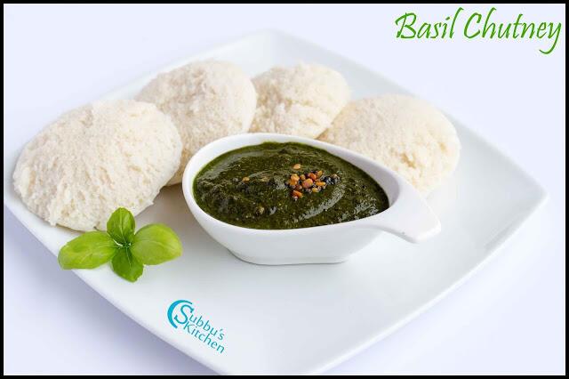 Basil Chutney Recipe