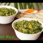 Pudhina Rice(Mint Rice)