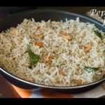 Pepper Rice Recipe | Authentic Andhra Pepper Rice Recipe