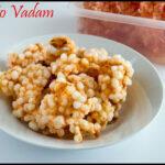 Tomato Sago Papad Recipe | Thakkali Javvarasi Vadam Recipe | Tamatar Sabudana Papad Recipe