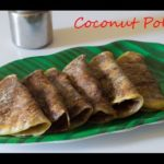 Coconut Poli Recipe | Thengai Poli Recipe