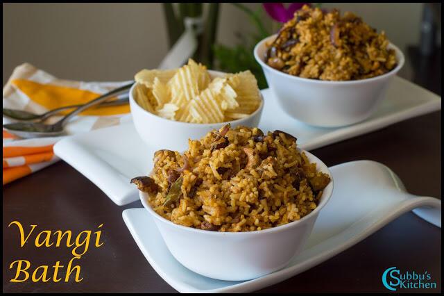Brinjal Rice(Vaangi Baath)