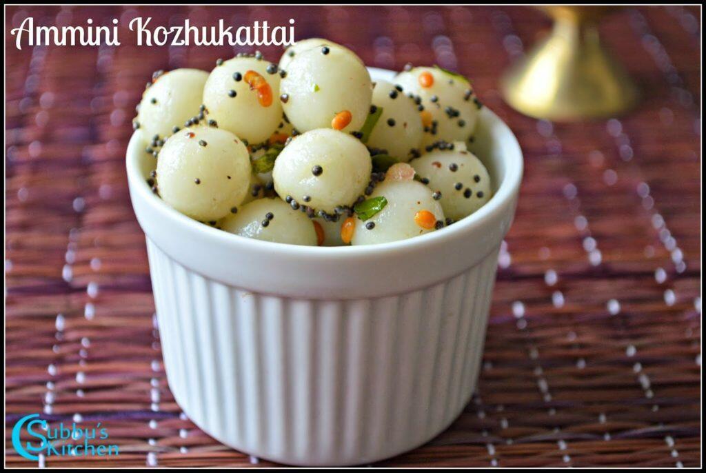 Kozhukattai Recipe Subbus Kitchen