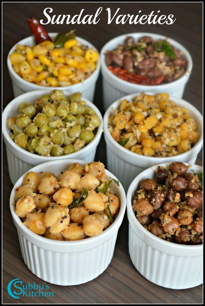 Navaratri Sundal Recipes | Navratri Sundal Recipes | Navratri Sundal Varieties
