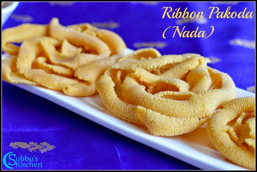 Ribbon Pakoda(Nada Recipe)