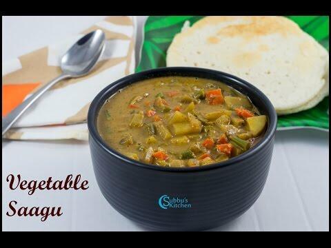 Mixed Vegetable Sagu Recipe   Saagu Recipe