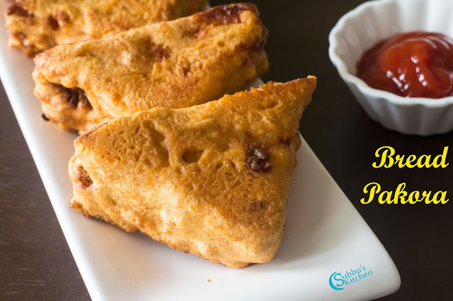 Aloo Bread Pakora Recipe | Bread Bajji Recipe | Bread Pakora Recipe