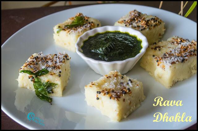 Rava Dhokla Recipe | Sooji Dhokla | Semolina Dhokla