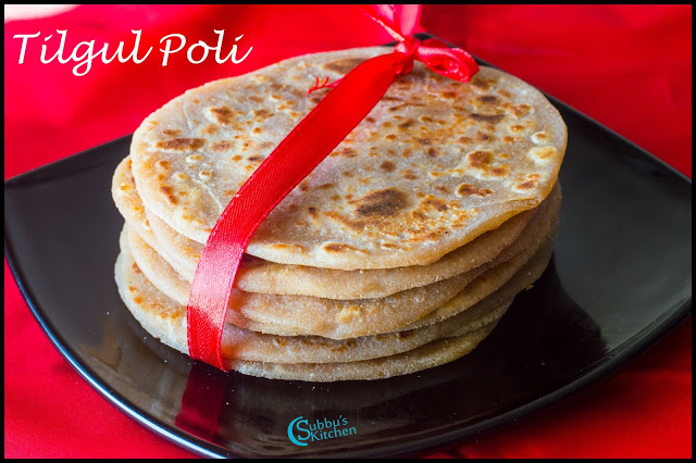 Tilgul Poli Recipe | Sesame seeds and peanut Purana Poli Recipe