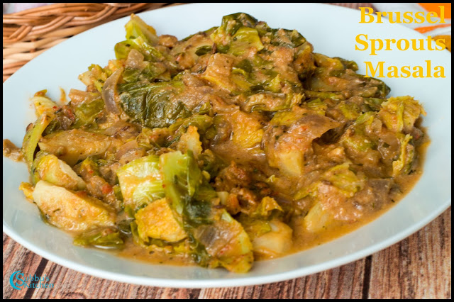 Brussel Sprouts Masala Recipe