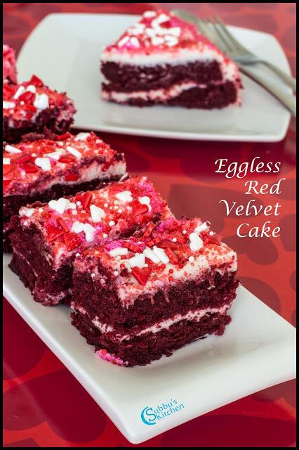 Eggless Red Velvet Cake Recipe | Red Velvet Cake with Beetroot Recipe
