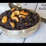 Ragi Halwa Recipe | Kezhvaragu Halwa | Finger Millet Halwa
