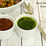Green Chutney and Sweet Chutney Recipes for Chaat